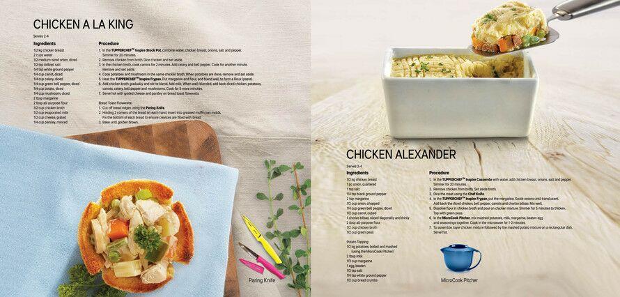 Tupperware Tupperware Cookbook Recipes