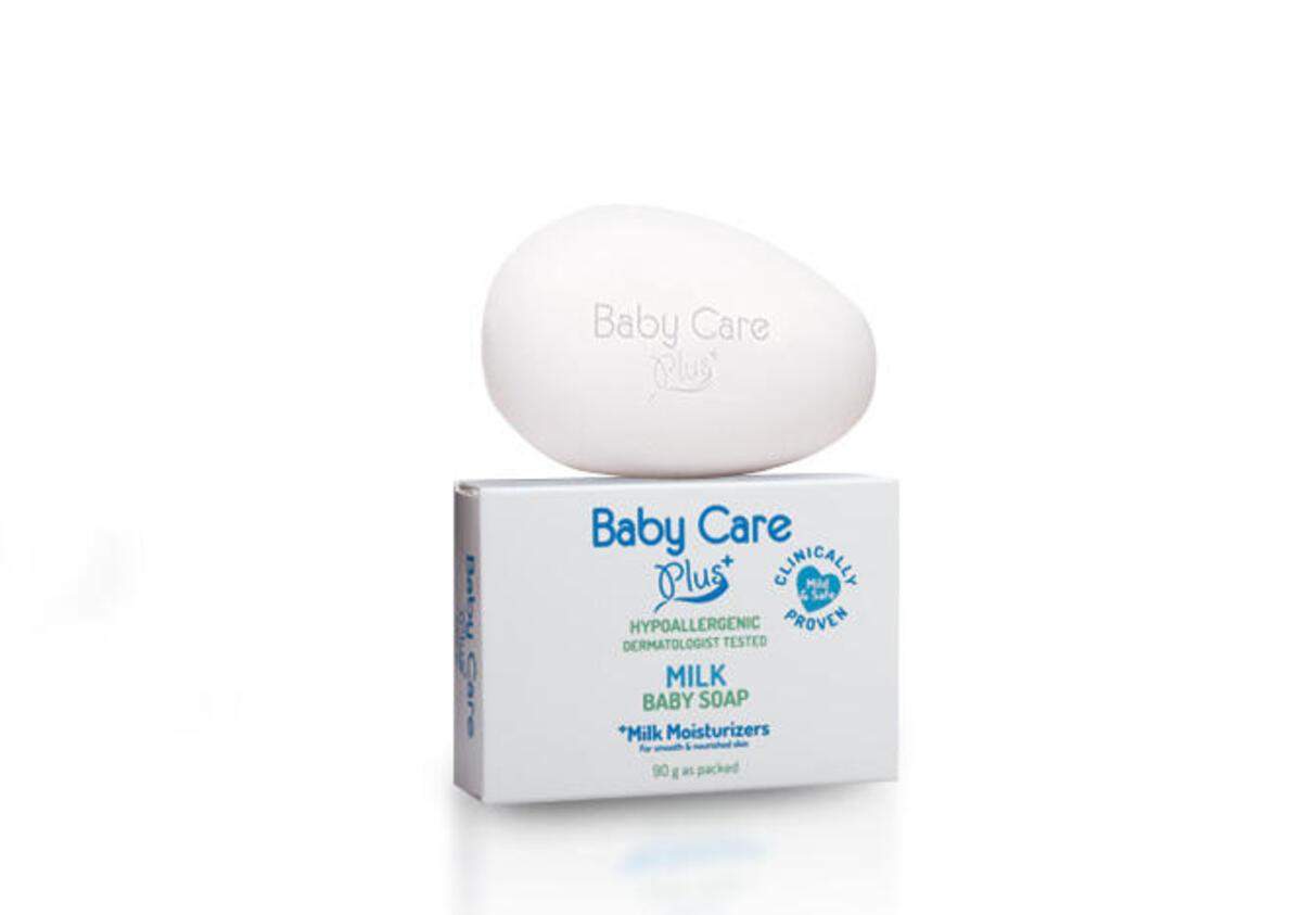 Tupperware Baby Care Plus Milk Baby Soap